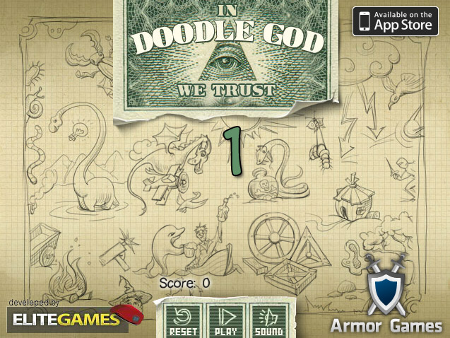 click to play doodle god 1