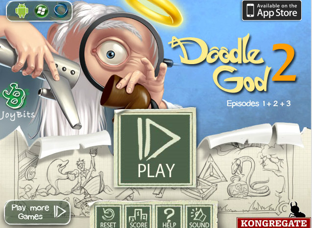 click to play doodle god 2