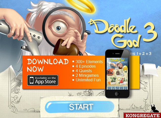 click to play doodle god 3